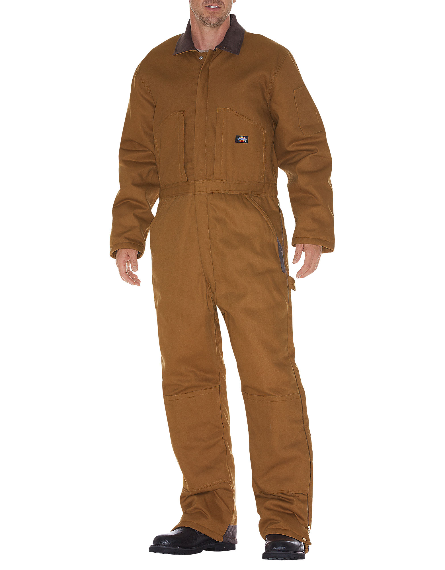 Dickies Mens Duck Insulated Coverall, Brown Duck M TL by Coveralls