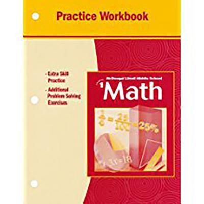 McDougal Littell Middle School Math, Course 1 : Practice Workbook, Student Edition