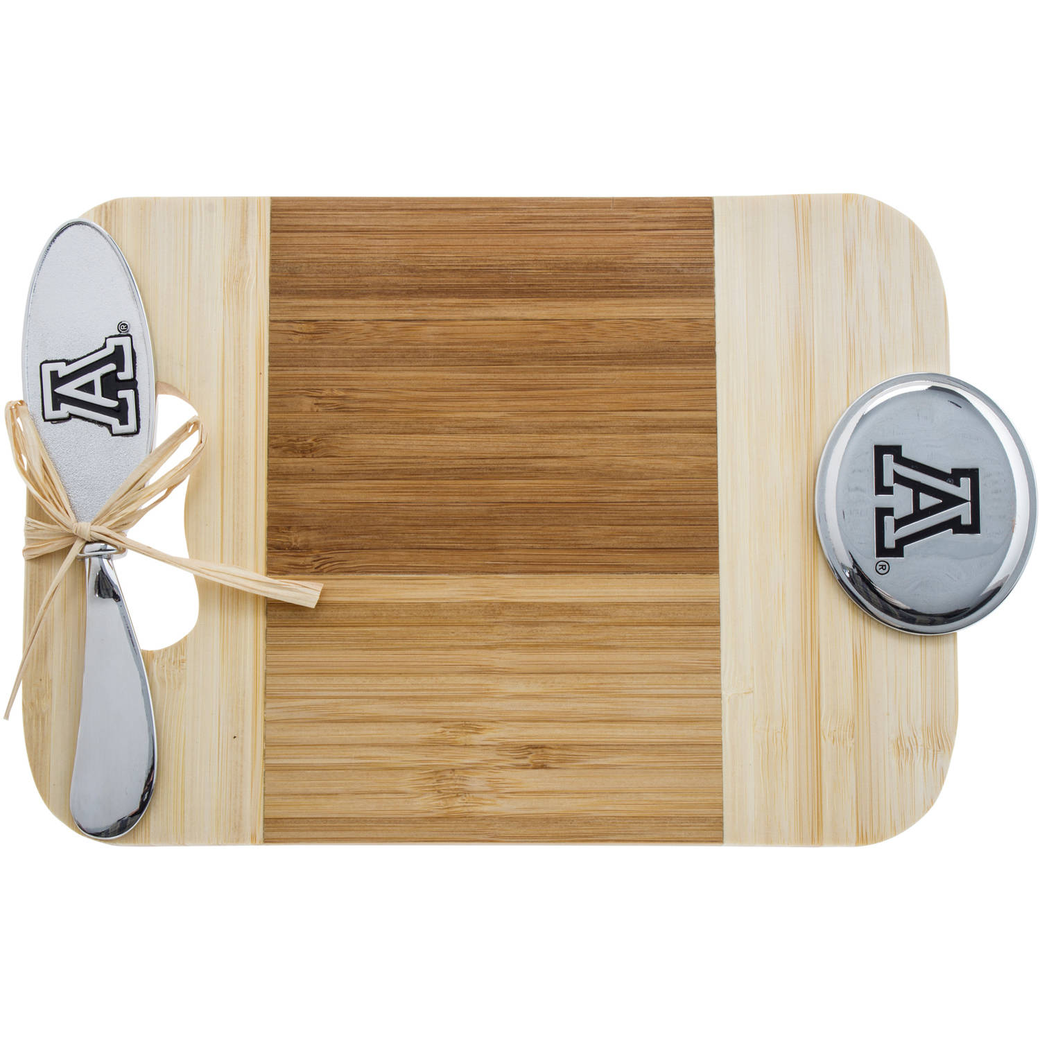 Bamboo Serving Board with Spreader Included, University of Arizona