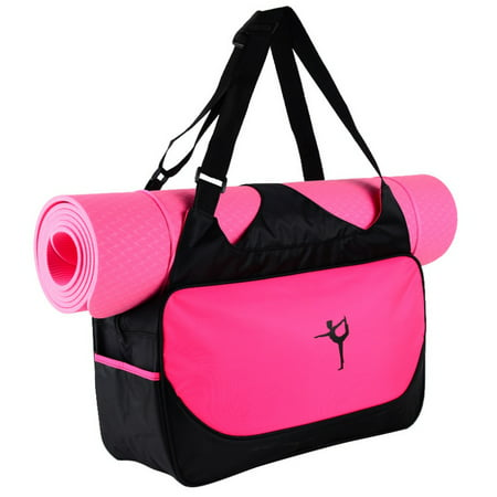 EFINNY Waterproof Gym Carriers Yoga Mat Handbag