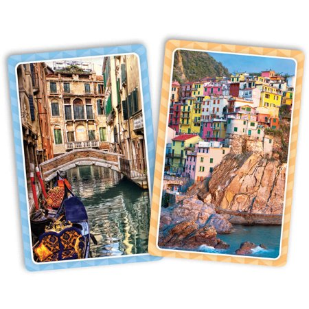 Italy Jumbo Print Index Playing Cards (Print Playing Cards)