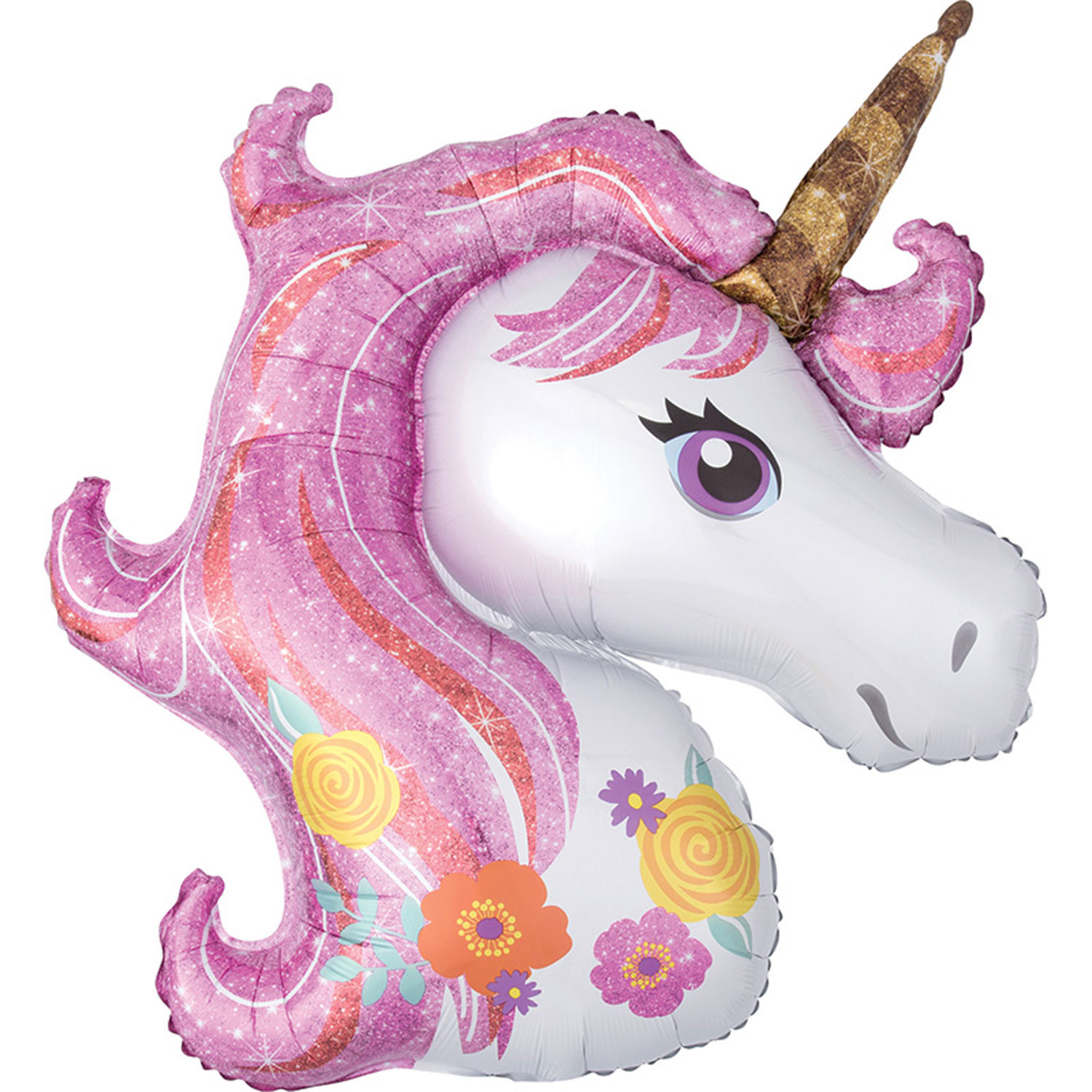 Magical Unicorn Super Shape Foil Balloon 33""