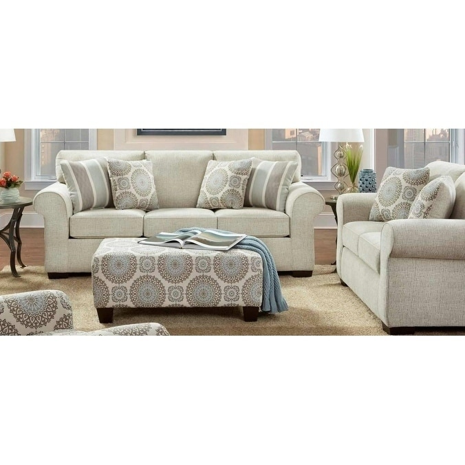 Sofa Trendz Carrick 2pc Sofa and Loveseat