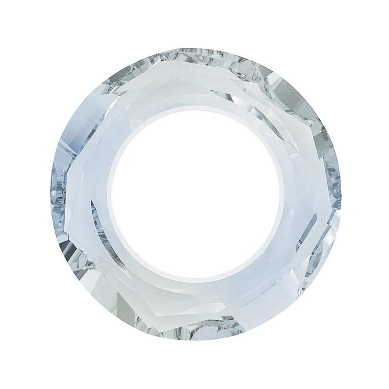 Swarovski Crystal, #4139 Cosmic Ring Pendant 14mm, 1 Piece, Crystal Blue Shade