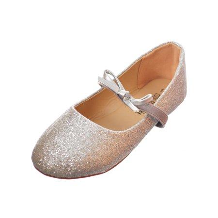 Girls' Ballet Flats (Sizes 5 - - Black Ballet Flats For Girls