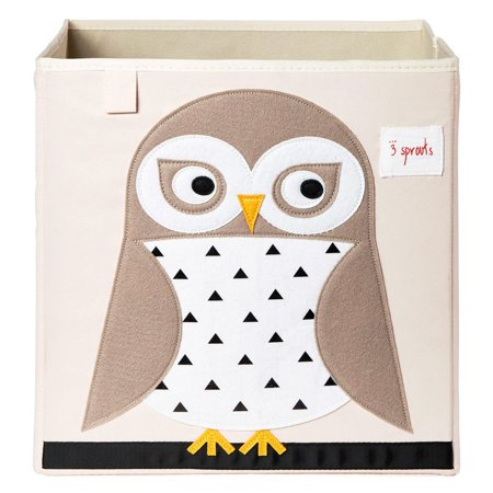 3 Sprouts Storage Box - Owl Century Archival Box