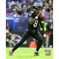 Lamar Jackson 2018 Action Photo Print