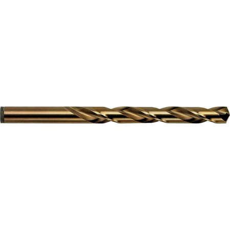 Irwin 631 Jobber Length Drill, 1/8 in Dia x 1-7/8 in OAL, Cobalt High Speed Steel