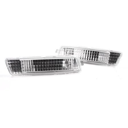 - 10-14 VW MK6 GOLF/JETTA SPORTWAGEN DEPO SIDE MARKER LIGHTS - CRYSTAL CLEAR