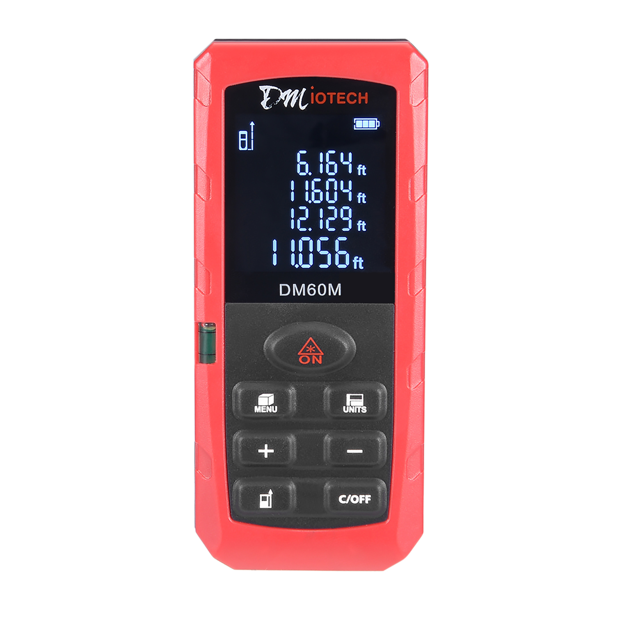 196ft Laser Distance Measure Handheld Digital Rangefinder Measurer Tape