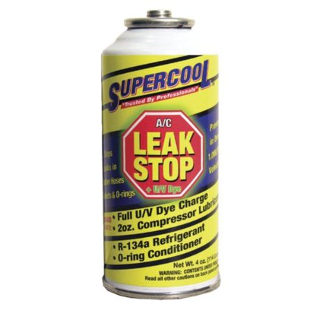 AC Air Conditioning Seal Leak Stop withDye 4 Ounce