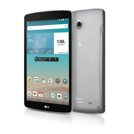 G Pad F 8.0 LG V495 16GB 4G LTE AT&T GSM GLOBAL Unlocked TABLET - Titan Silver ( Refurbished