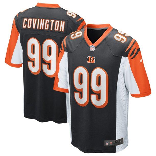 Christian Covington Cincinnati Bengals Nike Game Jersey - Black