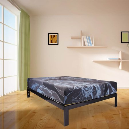 Austin Twin Size Hybrid Mattress, 680 Wrapped Coil Unit and Dunlop Latex Foam, Bed in a Box (Twin) ()