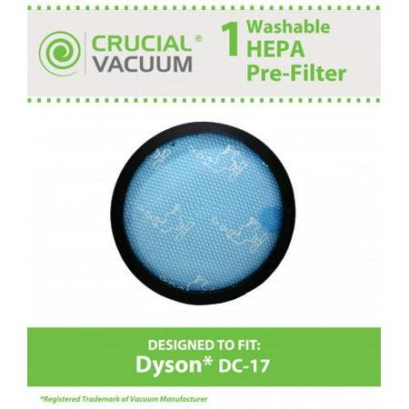 - Dyson DC17 Washable Pre Filter, Part # 911236-01