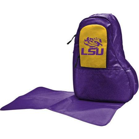 ncaa collegiate licensed diaper sling bag collection. Black Bedroom Furniture Sets. Home Design Ideas