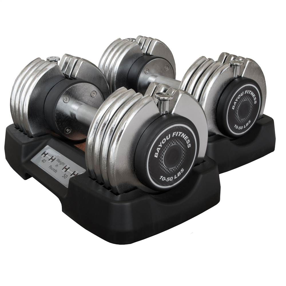 50 lbs. Adjustable Dumbbell - Set of 2