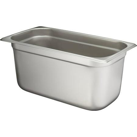 Winco SPJL-306 Anti-Jamming Steam Pan, 1/3 by 6-Inch, Standard Weight