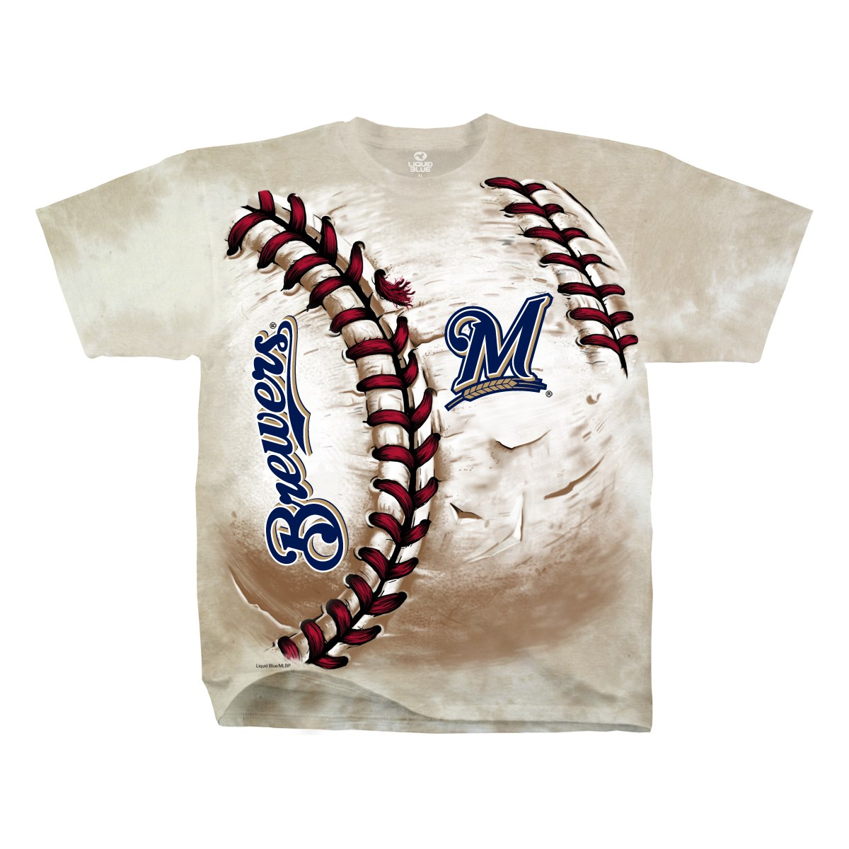 Milwaukee Brewers Hardball Men's Tan Shirt
