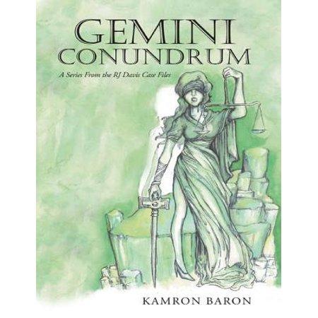 - Gemini Conundrum: A Series from the RJ Davis Case Files - eBook