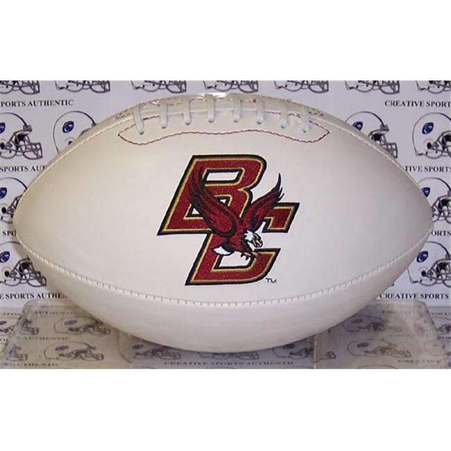 Creative Sports FBC-BOSTONCOLLEGE-Signature Boston College Golden Eagles Embroidered Logo Signature Series Football