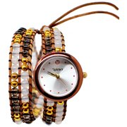 Winky Designs Double Wrap Watch, Pina Colada