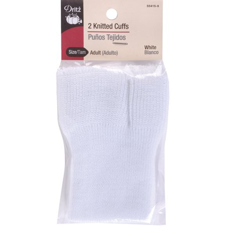Adult Knitted Cuffs, 2pk