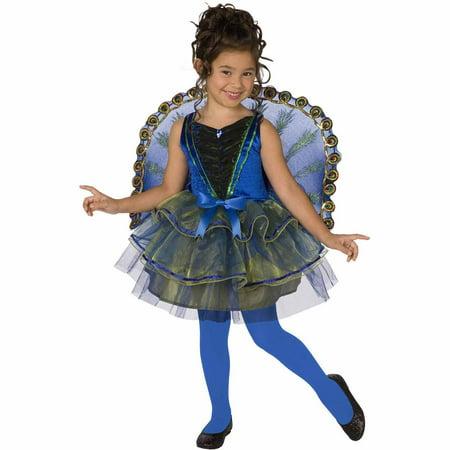Pretty Peacock Child Halloween Costume for $<!---->