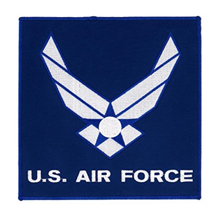U.S. Air Force Insignia Logo Embroidered Back Patch Iron Sew RPPM8549