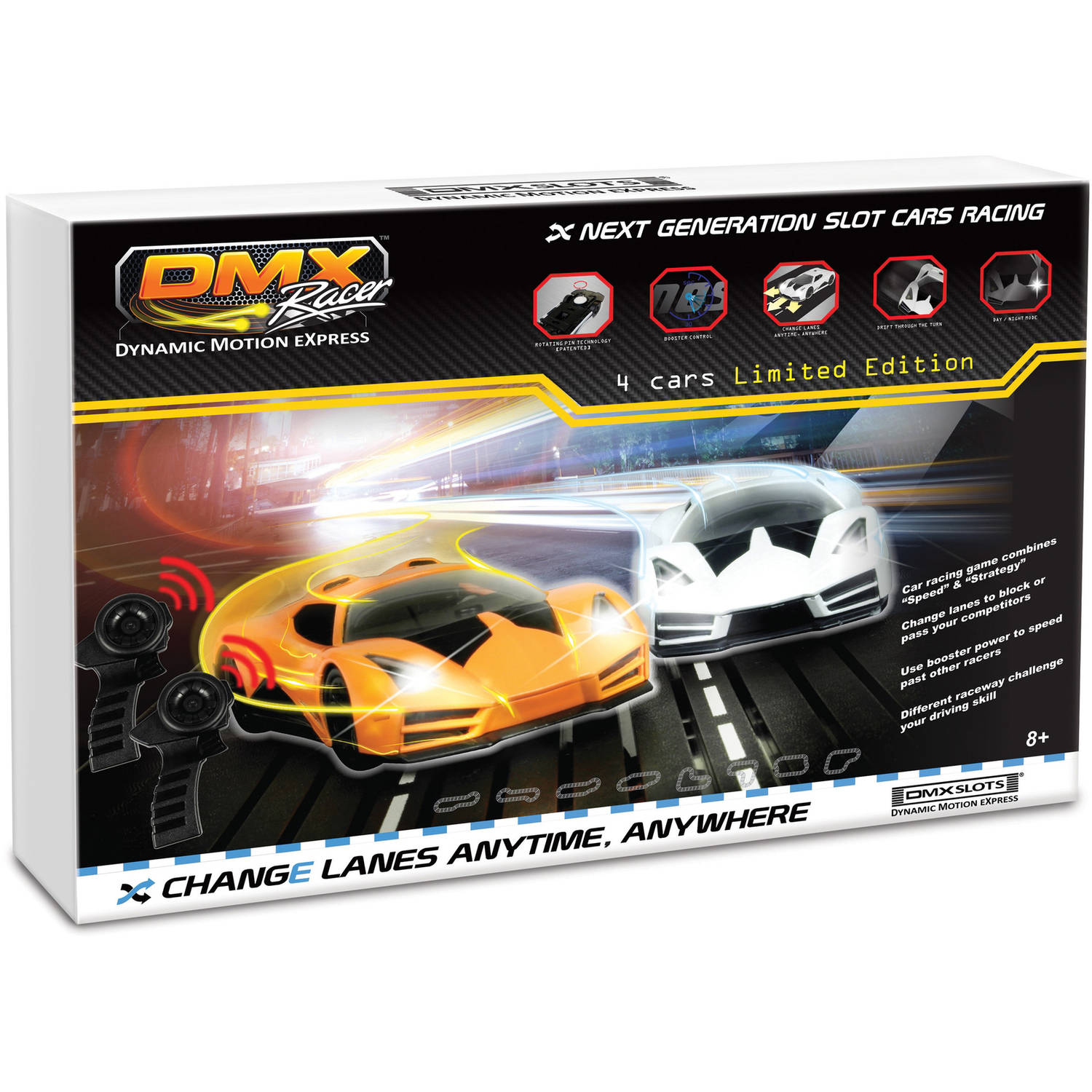 DMX Exclusive Revolutionary Pro Slot Car Racing Package