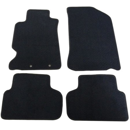 fits 02-06 acura rsx 2dr oem factory fitment car floor mats front & rear nylon