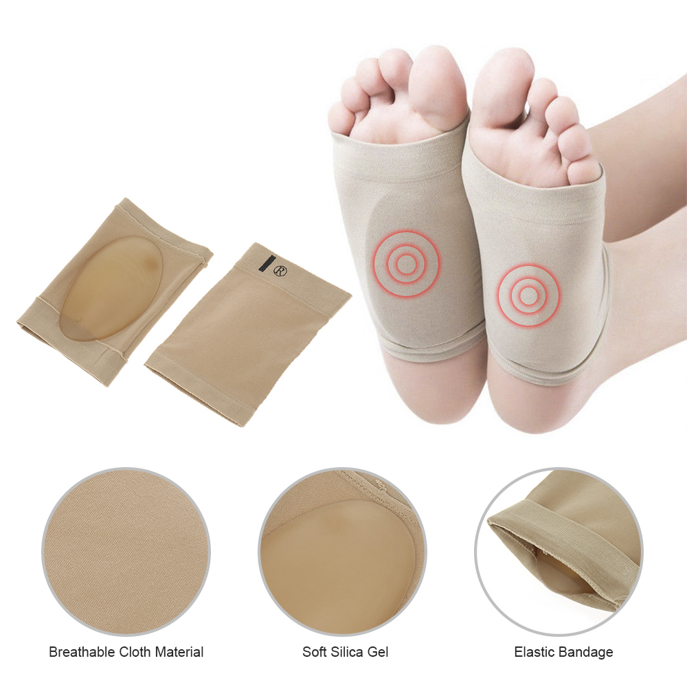 Orthotic Insoles Insert Flat Foot Plantar Fasciitis Arch Support Pad Pain Relief
