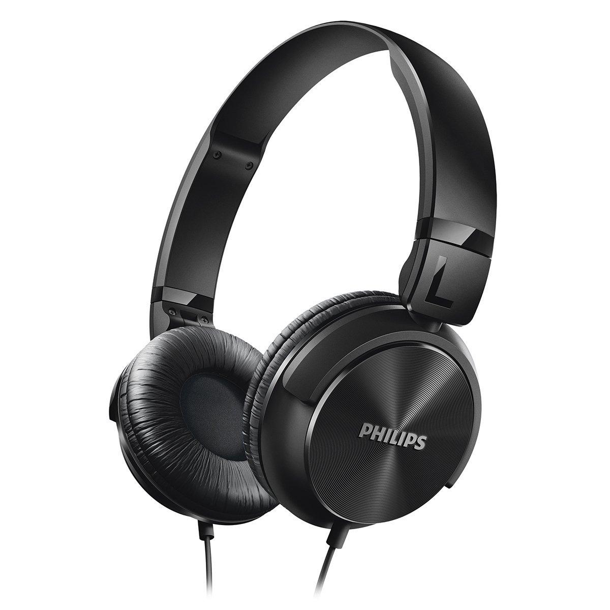 Philips SHL3060BK 28 Philips SHL3060BK 28 DJ Style Headphones Black by Philips