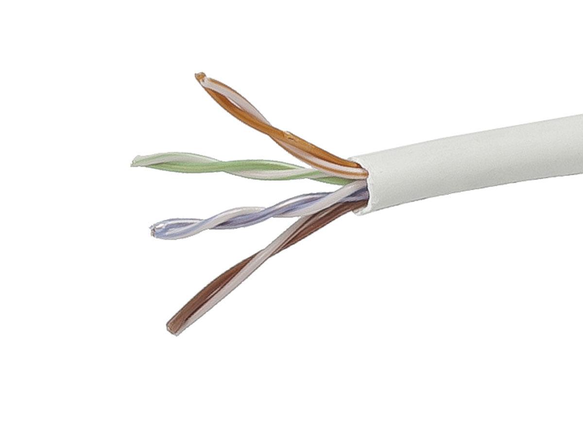Blue Bulk 350MHz Networking Ethernet CMP Cable 1000 Feet CAT5e Plenum