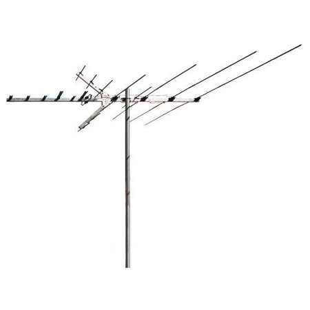 RCA Outdoor Digital TV and FM Radio Antenna for Suburban or