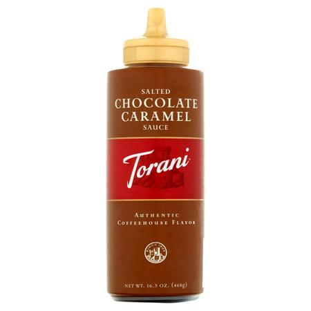 Torani Salted Chocolate Caramel Sauce 16.5oz