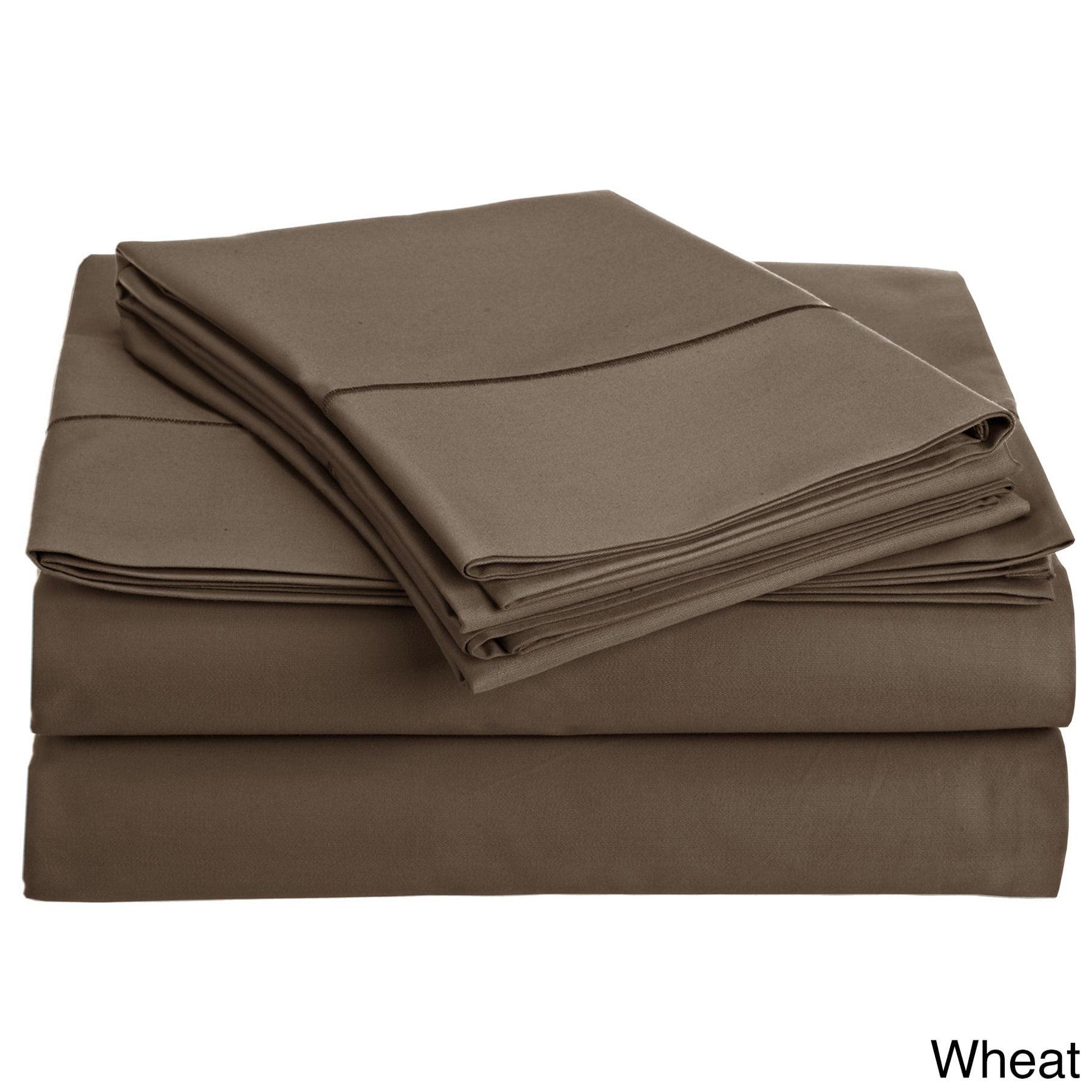 800 thread count 100% Egyptian Cotton 4 Pieces Sheet Set