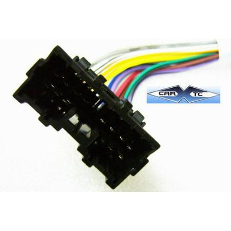 Stereo Wire Harness Mitsubishi Montero Sport 01 02 (car radio wiring on