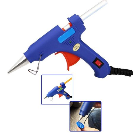 Glue Gun Crafts (Hot Glue Gun Kit for DIY Small Craft and Quick Repairs in Home & Office, 20)