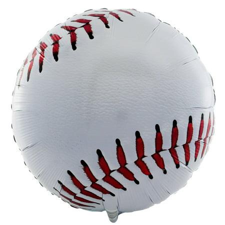 Baseball Shaped  18'' Foil Balloon (Baseball Pinatas)
