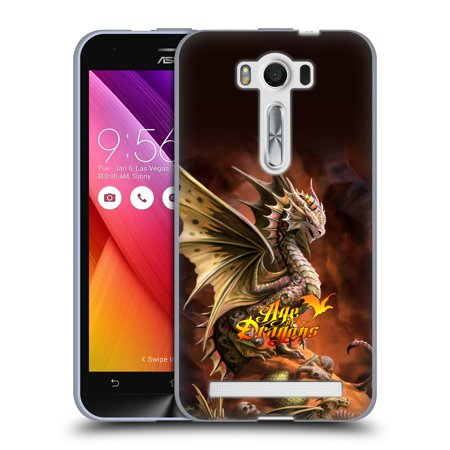Official Anne Stokes Age Of Dragons Soft Gel Case For Amazon Asus Oneplus
