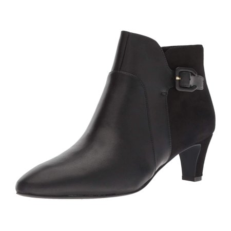 Cole Haan Women's Sylvia Bootie Ankle Boot, Black, Size 10.0 (Chukka Boots Cole Haan)