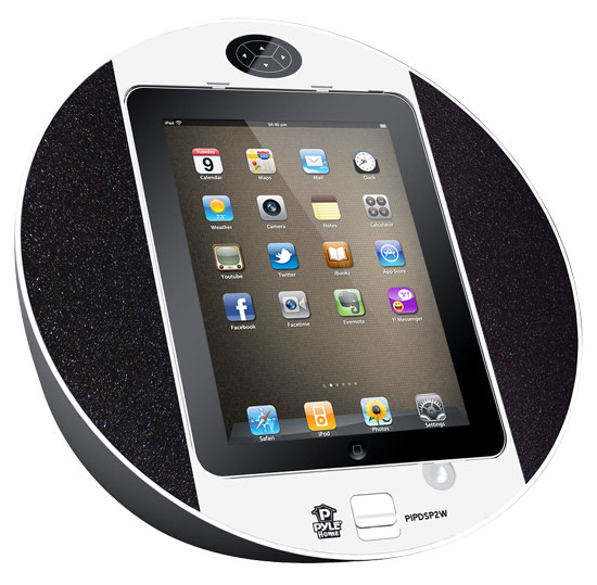 Pyle iPod/iPhone iPad Touch Screen Dock with Built-In FM ...