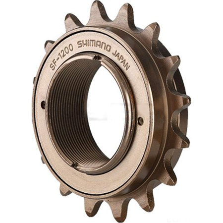 SF-1200 Single Speed Freewheel (20Tx1/8 1 Speed), For standard threaded hubs By SHIMANO ()