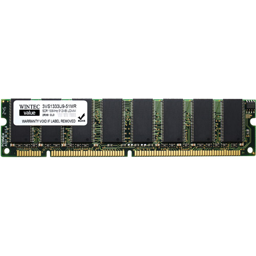 Wintec Value 512MB PC133 DIMM Notebook Memory