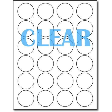 Crystal Clear Laser Labels 1 2/3