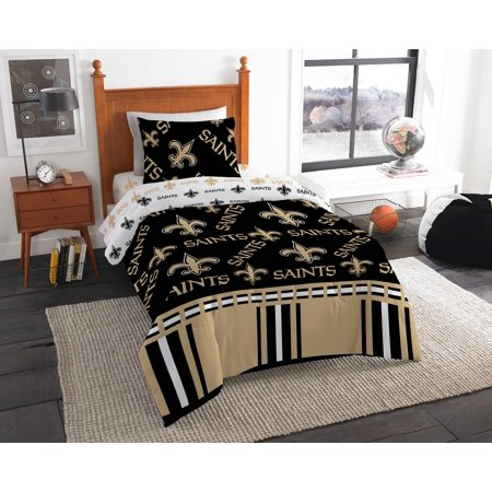 Nfl New Orleans Saints Bed In Bag Set Walmart Com