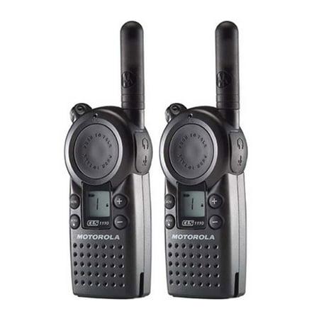 Cls Package (Motorola CLS1110 (2 Pack) Professional 2-Way Radio / 2 Mile Range)
