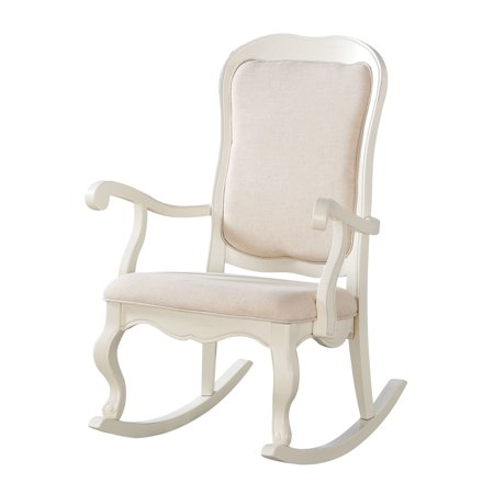 Pacific Glider Chair (Acme Furniture Sharan Rocking Chair - Solid )