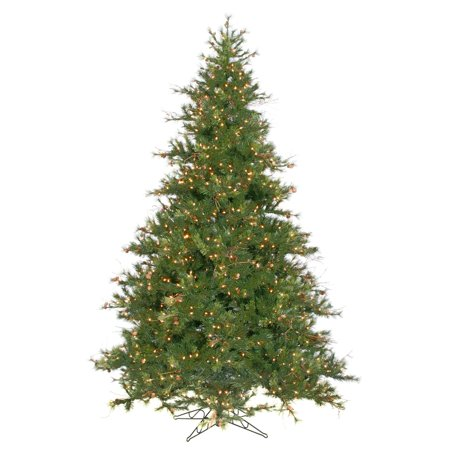 Vickerman 9 Mixed Country Pine Artificial Christmas Tree with 1100 Clear Lights